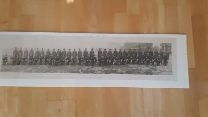 Yardlong,Jefferson Barracks,Mo.,18th co Gun Squad,ca.1918,Sievers photo,St Louis