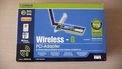 Linksys SpeedBooster Wireless-G PCI-Adapter NEU