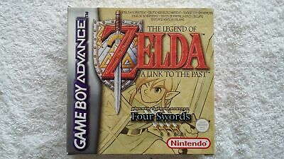 NINTENDO GAME BOY -  ZELDA A LINK TO THE PAST (BOXED