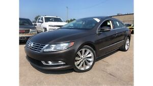 2013 Volkswagen CC Highline LUXURY TWO TONE LEATHER PANORAMA ROO