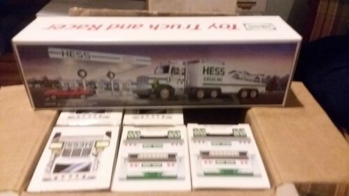 1988 Hess Toy Truck and Racer case fresh china made rare