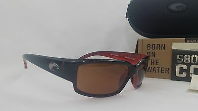 a2df71654f New Costa del Mar Caballito Polarized Sunglasses Black-Coral Copper 580P  Fishing