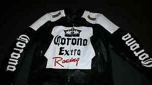 Corona Racing Motorbike Jacket Leather Wellard Kwinana Area Preview