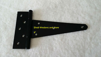 """8"""" Heavy Duty Shed Hinges (set of 6) Shed Barn Door Playhouse Treehouse Windows for sale  Myrtle Beach"""
