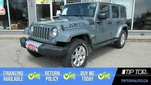 2015 Jeep WRANGLER UNLIMITED Sahara ** Nav, Leather, Automatic *