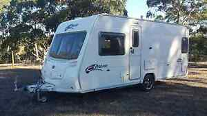 Immaculate Bailey Pageant Bordeaux caravan fixed bed 4 berth Adelaide CBD Adelaide City Preview