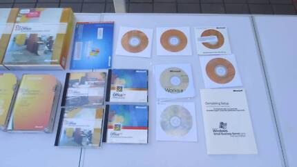 Bulk Lot of Office and Windows Software - SELL ASAP. PICKUP ONLY