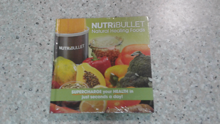 Nutribullet natural healing foods Brand New Pickup Only