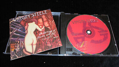 Virgin Steele – The Marriage Of Heaven And Hell Part One 1994 T&T EX (Virgin Steele The Marriage Of Heaven And Hell)