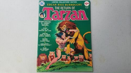 DC Limited Collectors Edition C-29 Return of Tarzan High grade!