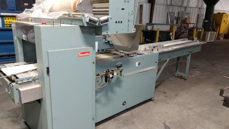 Shanklin F4A  Horizontal Flow Wrapper Automatic
