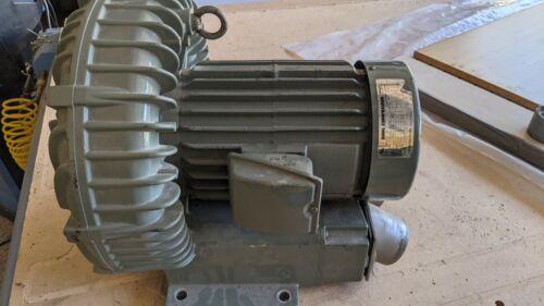 FUJI REGENERATIVE BLOWER RING COMPRESSOR VFC603A-7W 3PH 230/460v 4.5HP