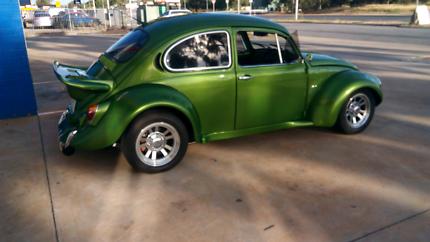 VW SUPER BEETLE 1972 Flat screen Paralowie Salisbury Area Preview