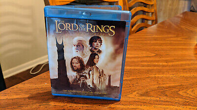 The Lord of the Rings: The Two Towers Blu-ray and DVD, 2010, 2-Disc Set