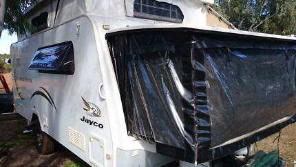 2010 Jayco Expanda 16.49.1clear waterproof bedends,full annexe Albany Area Preview