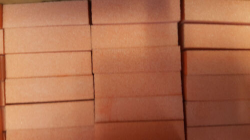 10 Pc Nail BUFFERS Orange 3-Way Buffing Sanding Blocks 80/100 Grit