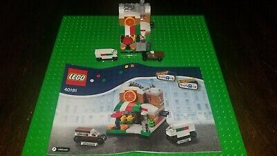 Lego Bricktober Pizza Place Set 40181 - 2014 -100% Complete w/ Manual Toys R Us