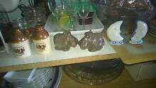 sets each $15 Salt Pepper shakers - moons, hippos, other Miranda Sutherland Area Preview