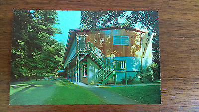 Vintage Postcard of New City Efficiency Motel in Rockland County, NY