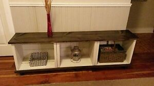Rustic Storage Unit / TV Stand or Bench