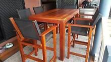 Bar Setting 7 Piece Kasule Timber Rockhampton 4700 Rockhampton City Preview