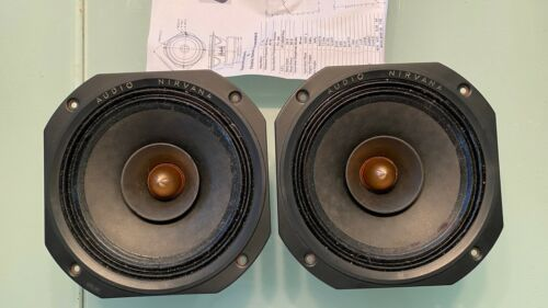Audio Nirvana Super-8 full range speaker pair