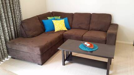 4 Seater Corner Chase + 2 Seater + Coffee Table Keysborough Greater Dandenong Preview