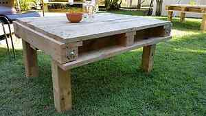 Pallet Table or Outdoor Coffee Table Dakabin Pine Rivers Area Preview
