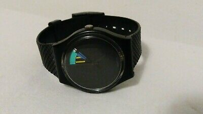 Vintage men's Swatch Swiss Watch  rare  9281-P. ,Runs