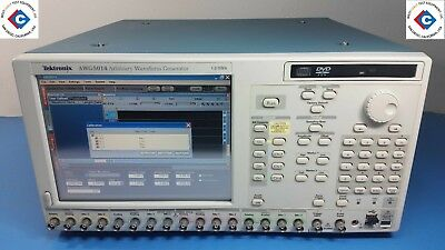 Tektronix Awg5014 Arbitrary Waveform Generator - 4 Ch Used