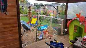 Glass fence with sprigots stainless stellar marine grade pool spa Mulgrave Monash Area Preview