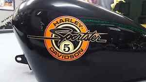 Harley davidson Sportster tank. Collectors First of the 5 speeds Kangaroo Flat Bendigo City Preview
