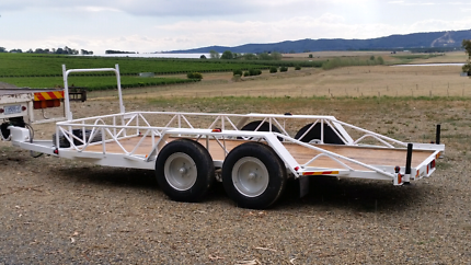 Tandem Machinery Trailer Campbellfield Hume Area Preview