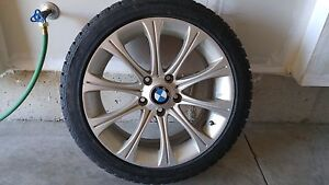 Winter tires for BMW 335, 328. EXT REME GRIP MX Kitchener / Waterloo Kitchener Area image 1