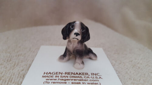 Hagen Renaker Dog Springer Spaniel Pup Figurine Miniature Free Shipping 03203