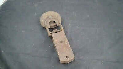 ANTIQUE VINTAGE SAFETY DOOR HANGERS ASHLAND OHIO BARN DOOR ROLLERS