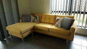 Beautiful 3 Seater + Chaise Ipswich Ipswich City Preview