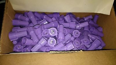 Ideal Purple Wire Nuts 30-265 Quantity 100 Model 65 Alcu Wire Connector