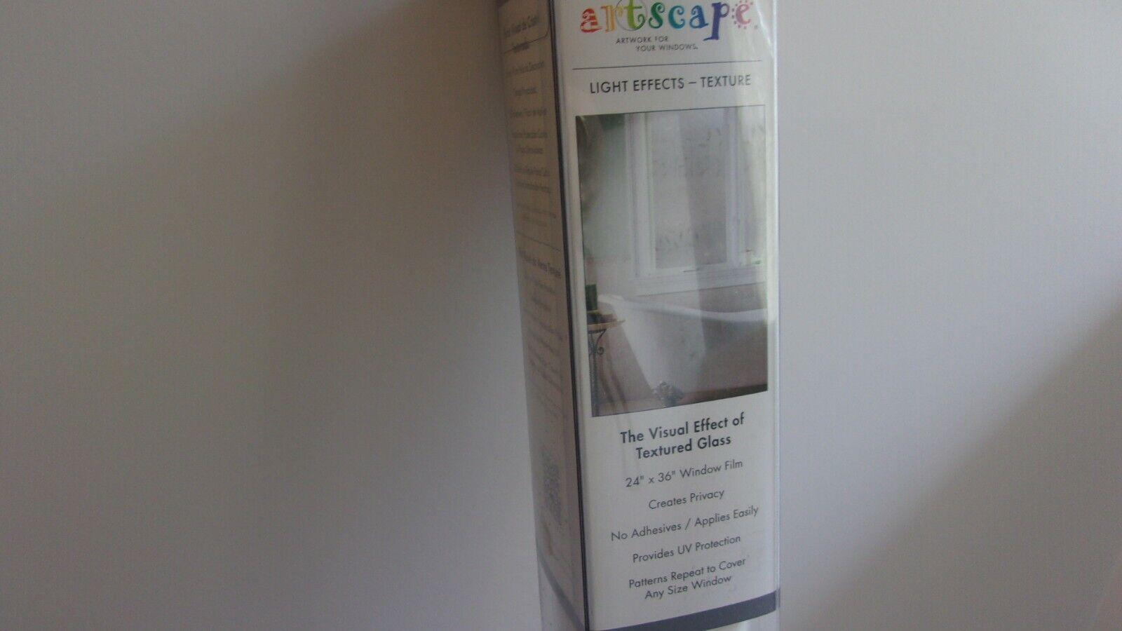 Decorative Window Film Privacy UV Protection Non Adhesive -