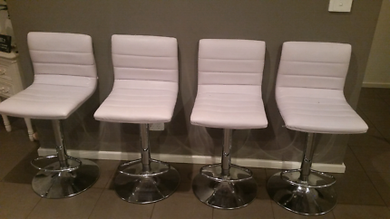 4 stools. White in colour