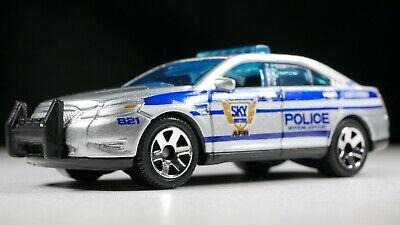 MATCHBOX 2020 MBX CITY FORD POLICE INTERCEPTOR SILVER