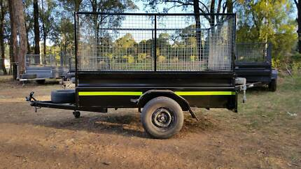 @HIRE@ 8x5 Box/Cage Trailer $30/4hrs or $50/24hrs Kemps Creek