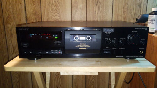 Sony TC-K615S 3-Head Cassette Deck With Dolby S  {{{REFURBISHED}}}
