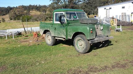 Land rover 2a sixty 's model $2000 Hillville Greater Taree Area Preview