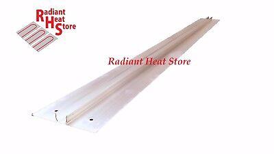 50 Extruded Aluminum Snap-in 12 Pex Radiant Floor Heat Transfer Plates 4