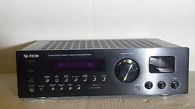 3000 Schwarz, Usb (X4 tech Tubebooster 3000 Tube Stereo Amplifier CD/DVD/AUX/USB Verstärker Schwarz)