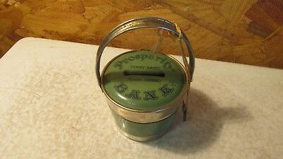 Antique Prosperity Tin Bank