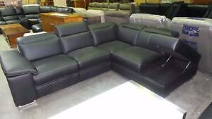 CORNER CHAISE WITH ONE END  RECLINER ADJUSTABLE HEADRESTS Thebarton West Torrens Area Preview