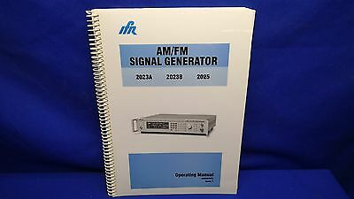 Ifr 2023a 2023b 2025 Amfm Signal Generator Operating Manual 46882373 Issue 7