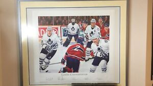 TORONTO MAPLE LEAFS LIMITED EDITION LITHOGRAPH $500